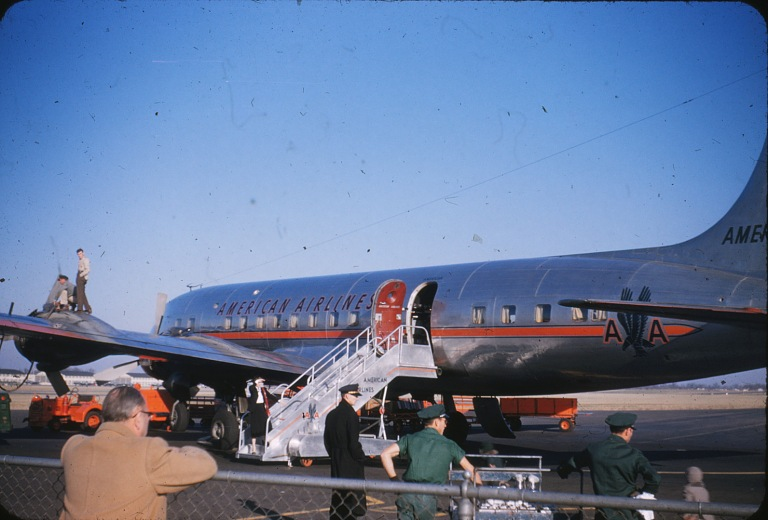 Amer Airlines Plane