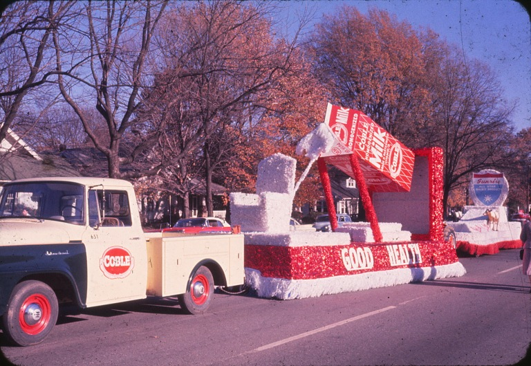 Coble Dairy Float Parade